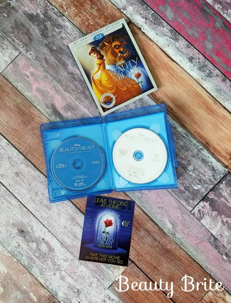 Beauty and the Beast The 25th Anniversary Edition DVDs
