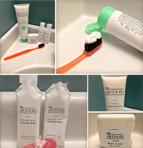 Boka Charcoal-Activated Toothpaste and other oral care products