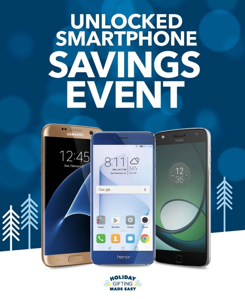 Unlocked Smartphone Savings Event
