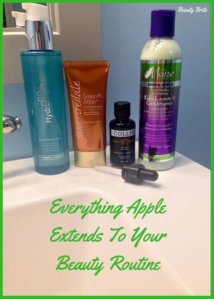 Everything Apple Extends To Your Beauty Routine - Apple Infused Beauty-G. M. Collins-The Mane Choice-Jane Iredale-Hydropeptide Cleansing Gel-Juice Beauty
