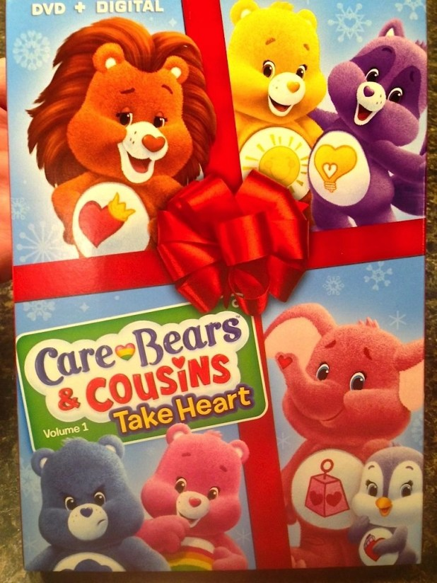 DVD-Care Bears and Cousins Take Heart Volume 1
