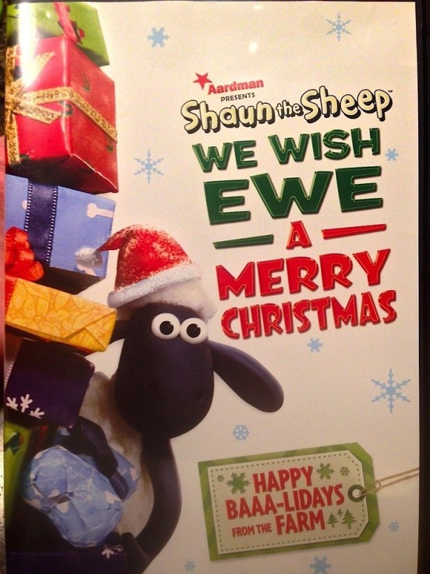 DVD-Shaun The Sheep We Wish Ewe A Merry Christmas