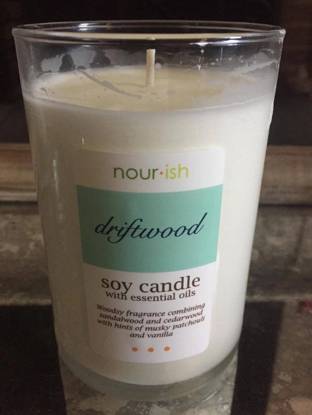 Nourish Driftwood Soy Candle