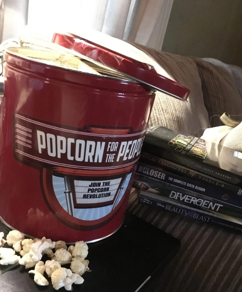 Movie Night With Flavored Popcorn -- Popcorn For The People