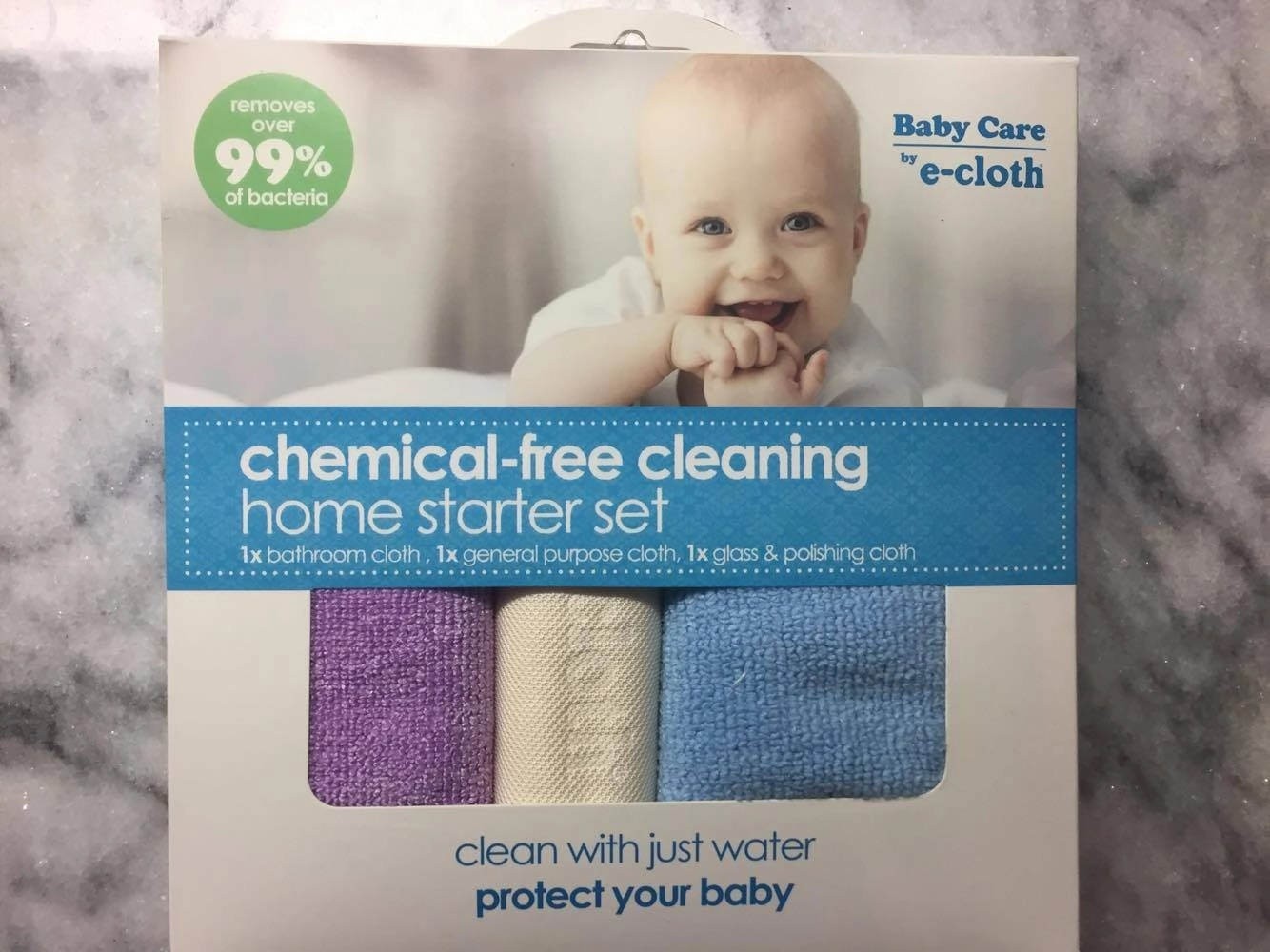 Chemical free cleaning home starter set