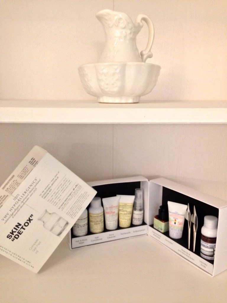 Give Your Skin A Do-Over - VMV Hypoallergenics Skin Detox Complete Skin Fast Kit
