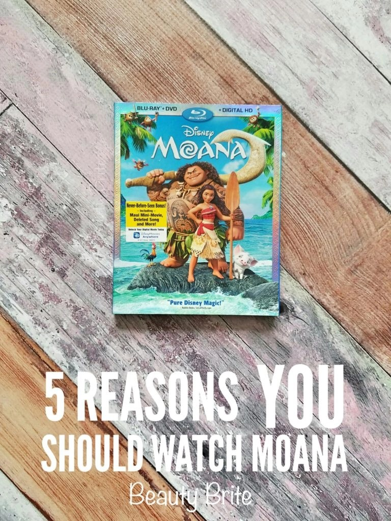 5 Reasons You Should Watch Moana