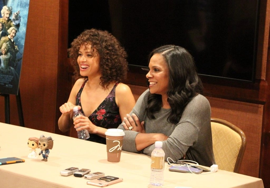 Beauty And The Beast Interview With Audra McDonald And Gugu Mbatha-Raw #BeOurGuestEvent