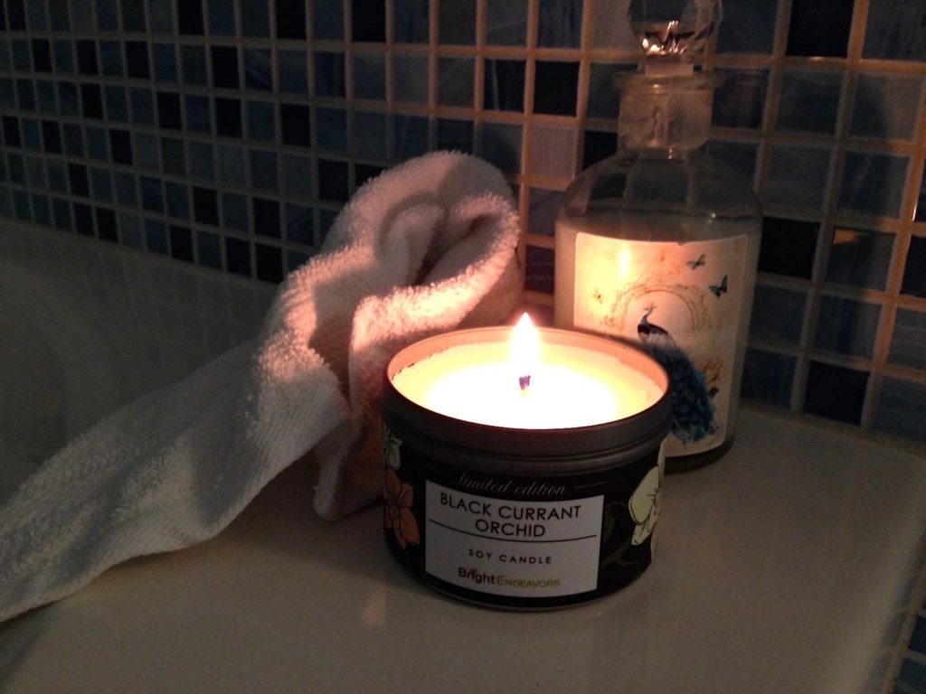 Bright Endeavors Candles Black Currant Orchid Soy Candle