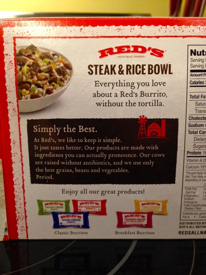 Red's All Natural Frozen Foods
