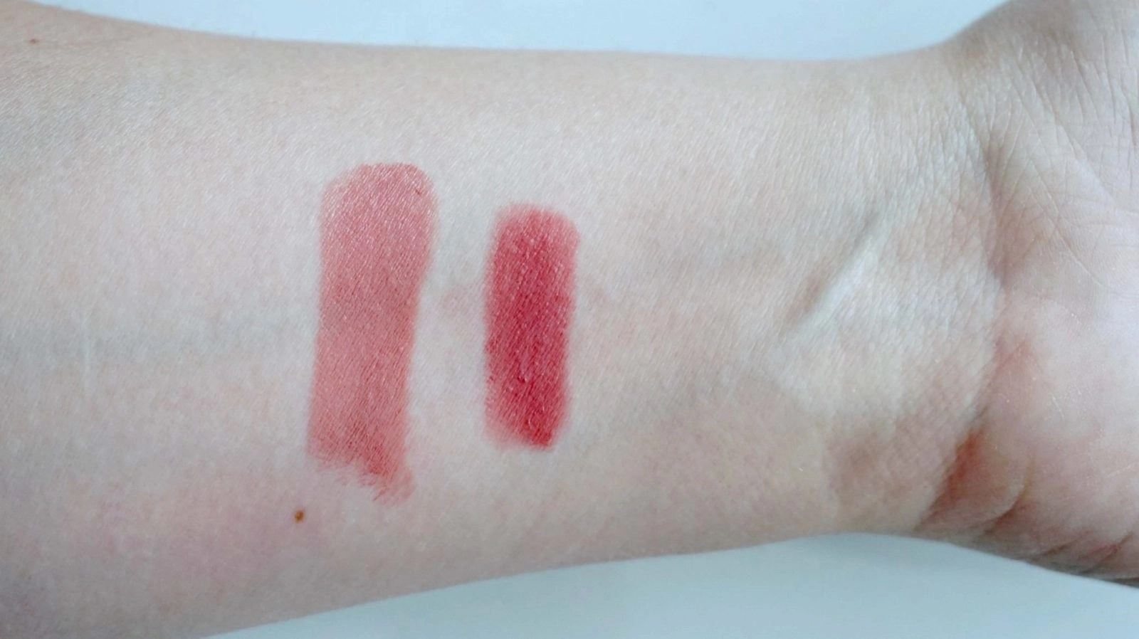 Tarte and Tom Ford Lip Products Swatches