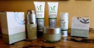 VI Derm and Karyng Skincare Products