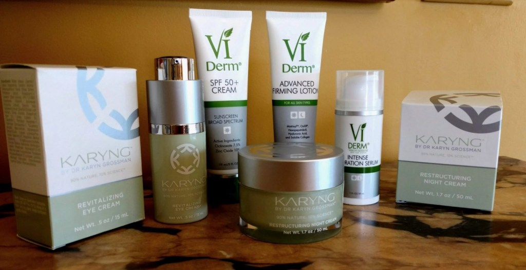 VI Derm and Karyng Cruelty-Free Skincare Products