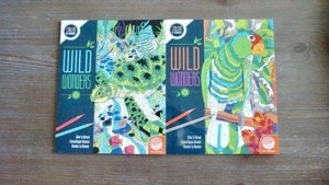 Fun Adult Coloring Books from Wild Wonders