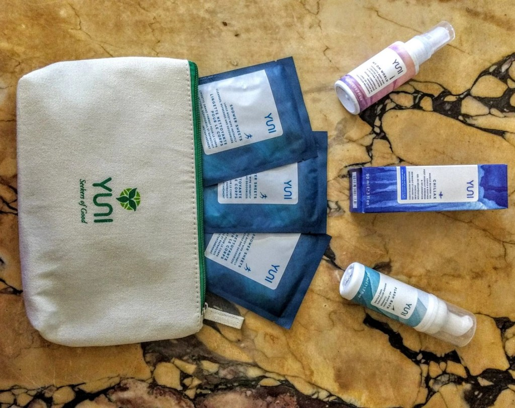 YUNI Sweat Refresh And Go Travel Kit