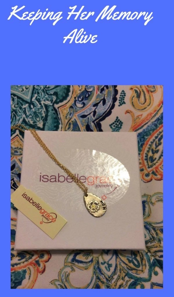 Keeping Her Memory Alive - Isabella Grace Bloom Necklace