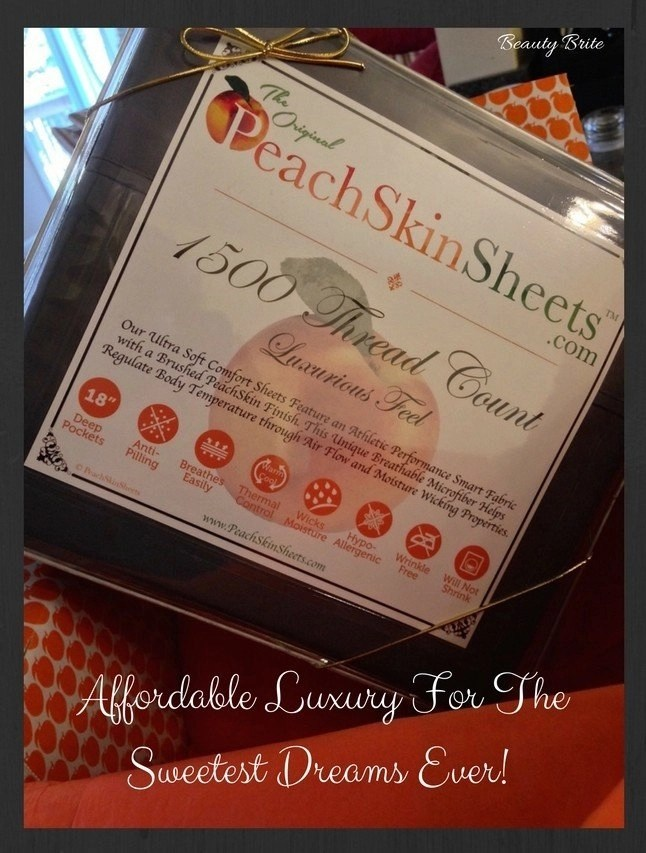 Affordable Luxury For The Sweetest Dreams Ever - PeachSkinSheets