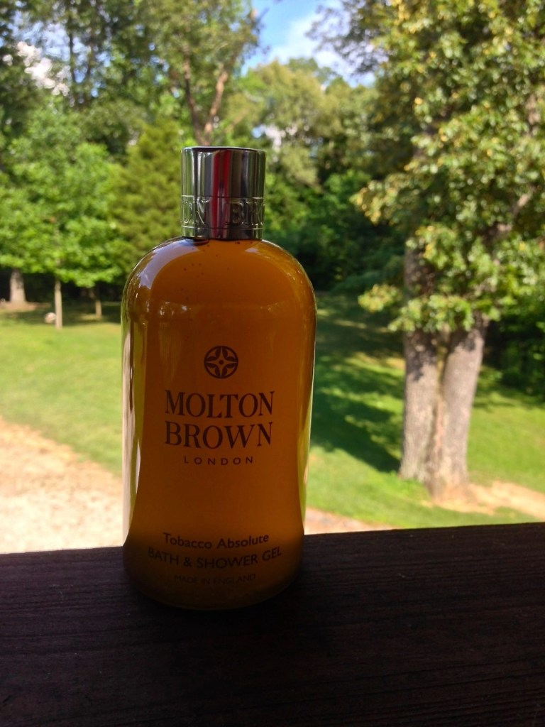 Molton Brown's Tobacco Absolute Collection Bath & Shower Gel