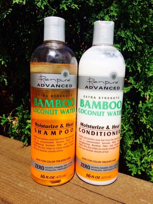 Renpure Bamboo Coconut Water Shampoo and Conditioner