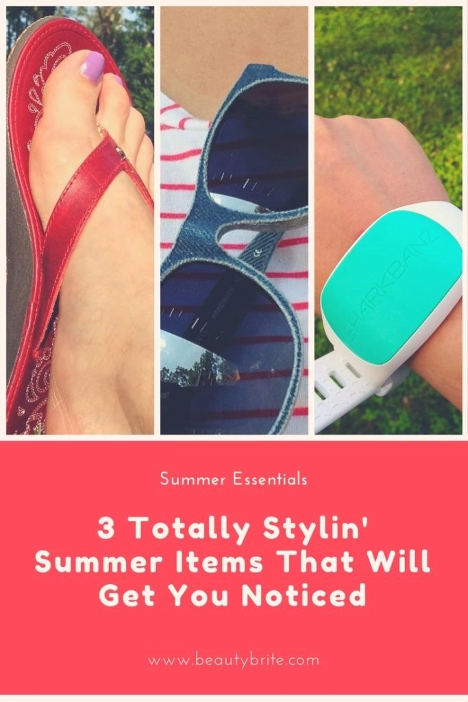3 Totally Stylin' Summer Items That Will Get You Noticed--Mosevic Signature Denim Sunglasses Cassini-OluKai Footwear Paniolo-Sharkbanz2