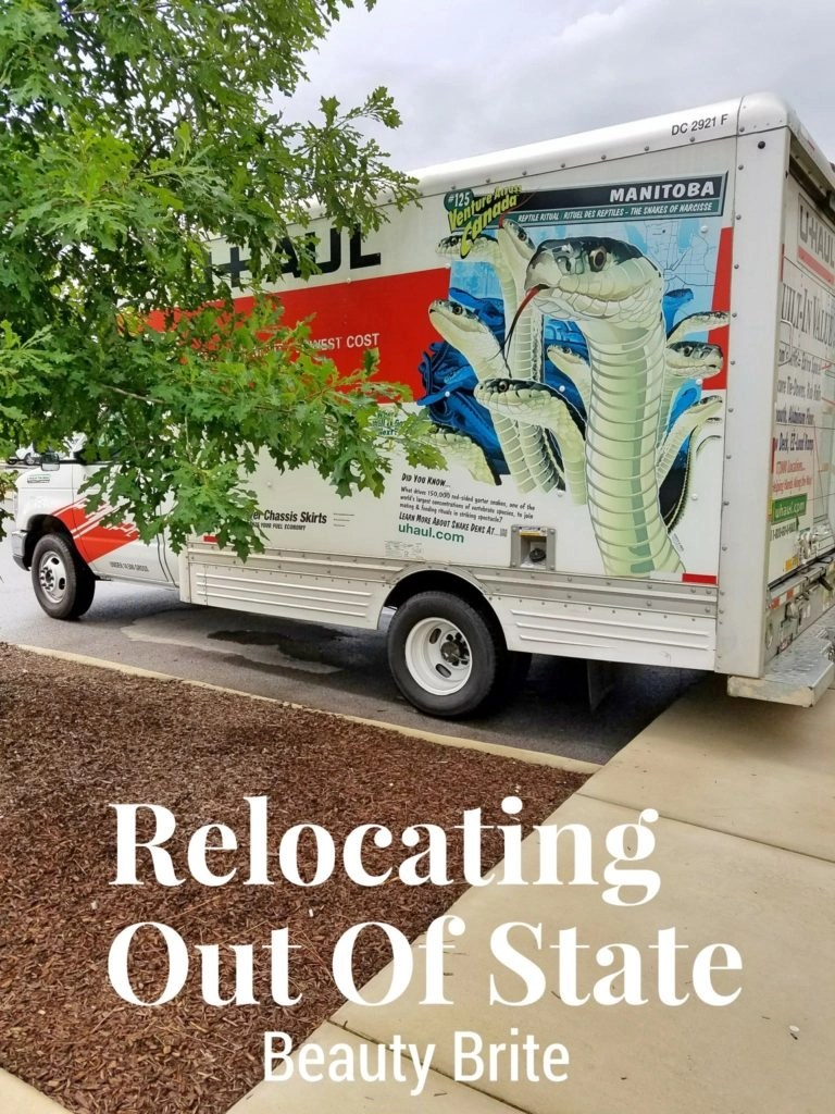 Relocating Out Of State