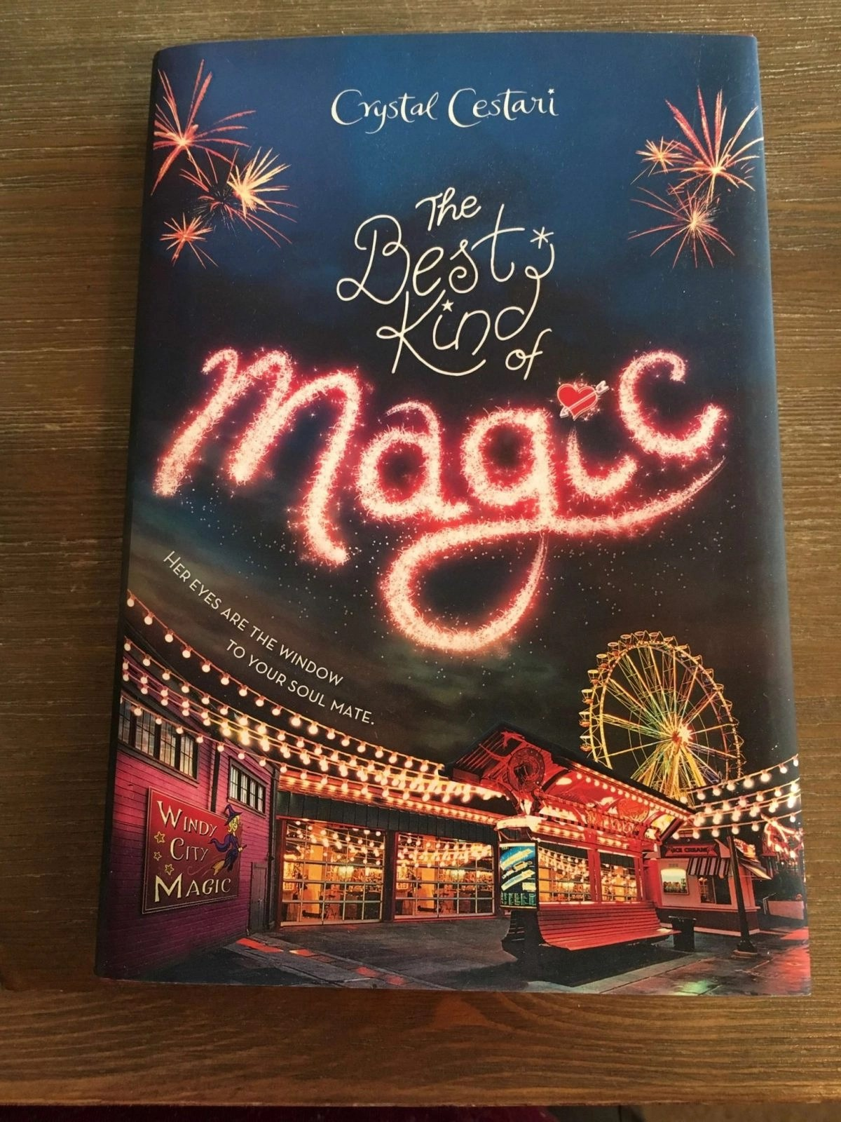 The Best Kind of Magic Front Cover of Novel