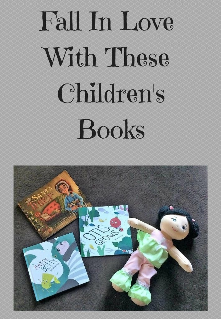 Fall In Love With These Children's Books--Batty Betty by Kathryn Hast-Otis Grows By Kathryn Hast-The Santa Thief by Alane Adams
