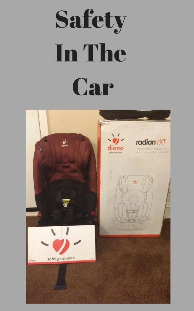 Safety In The Car - Diono Radian rXTConvertible and Booster Seat