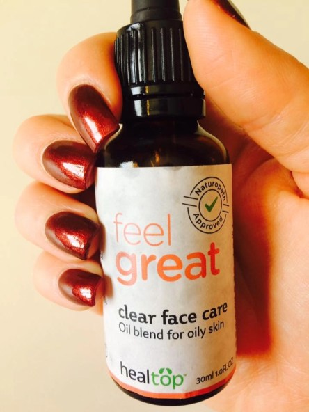 Healtop Clear Face Care Blend For Oily Skin