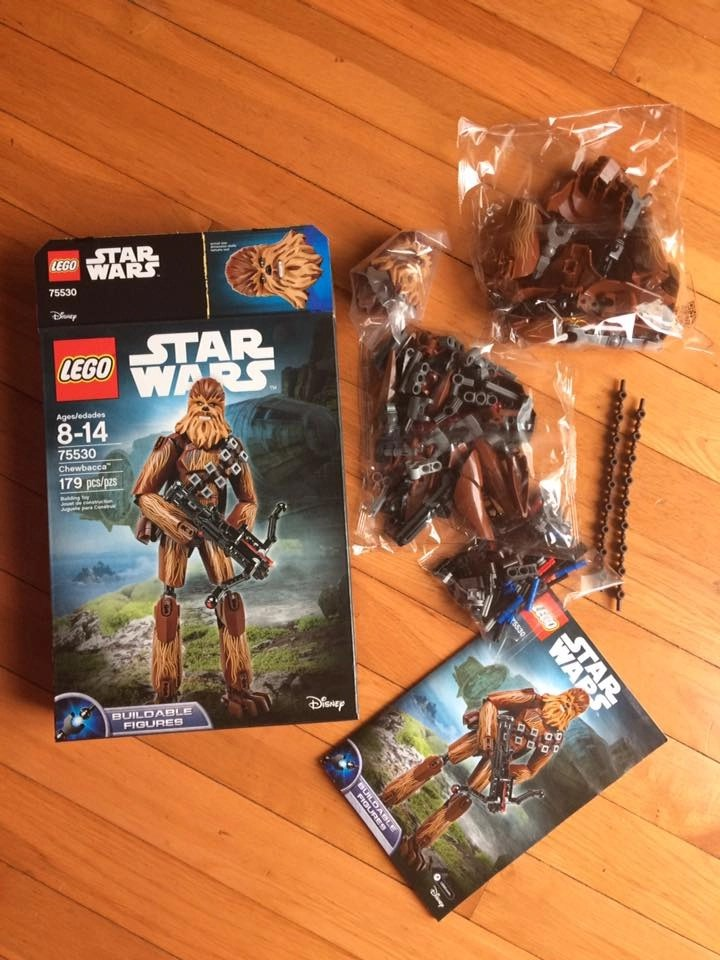 LEGO Star Wars Chewbacca Building Kit