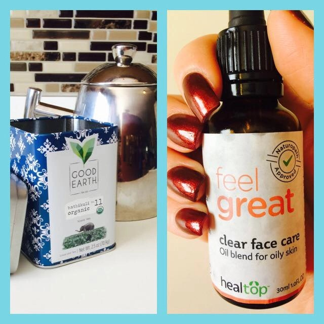 Natural Products For a Better Quality of Life-Healtop Clear Face Care-Good Earth Organic Tea