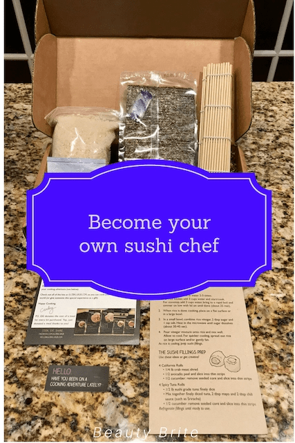 Become Your Own Sushi Chef