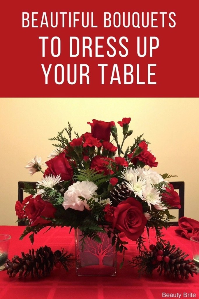 Beautiful Bouquets To Dress Up Your Table-Teleflora Christmas 2017 Holiday Bouquet Arrangement