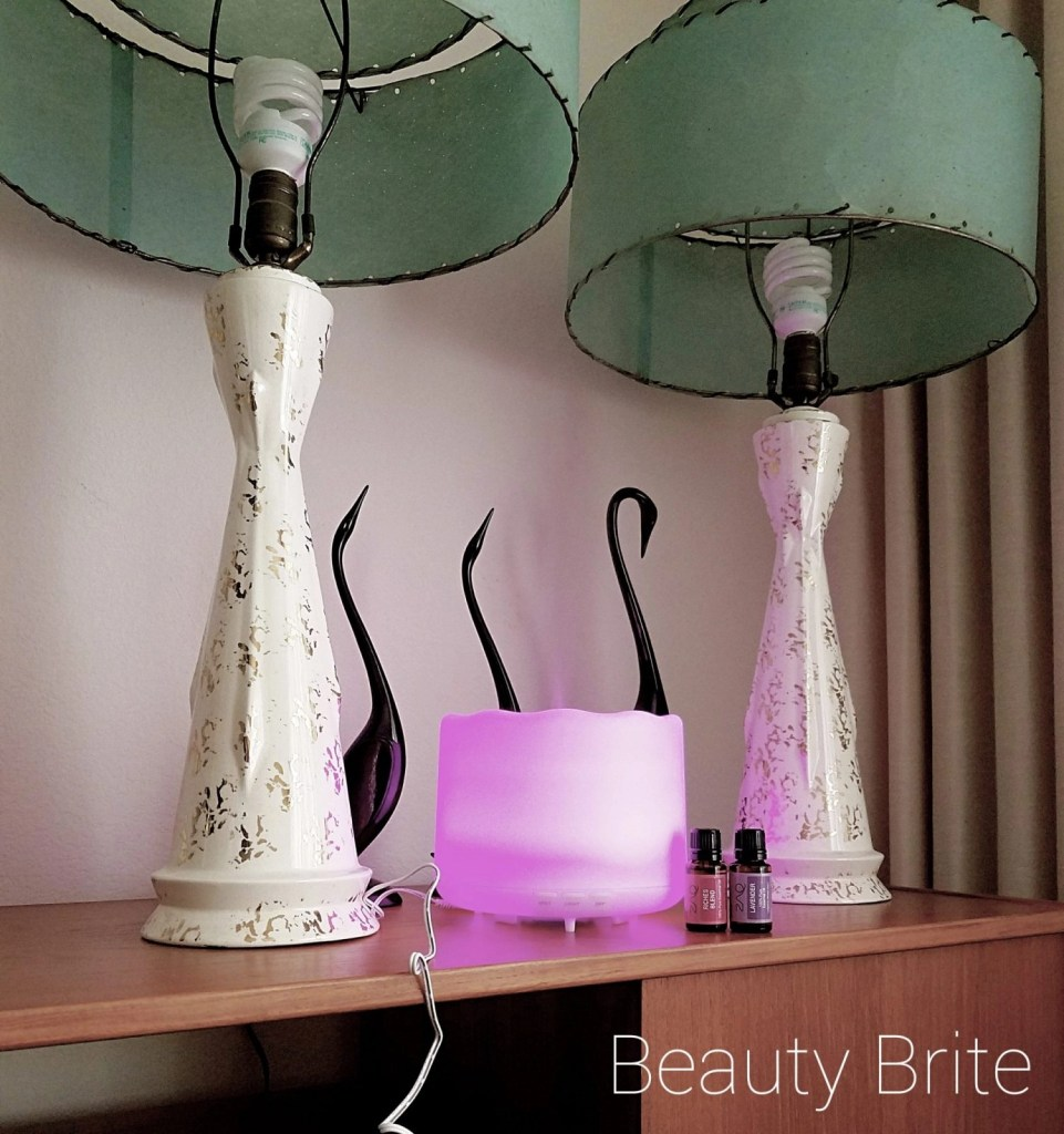 Lotus Oil Diffuser and oils