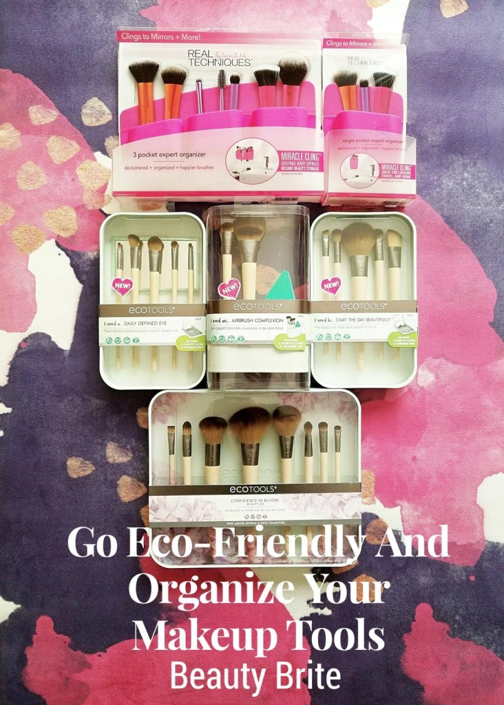 Go Eco-Friendly And Organize Your Makeup Tools