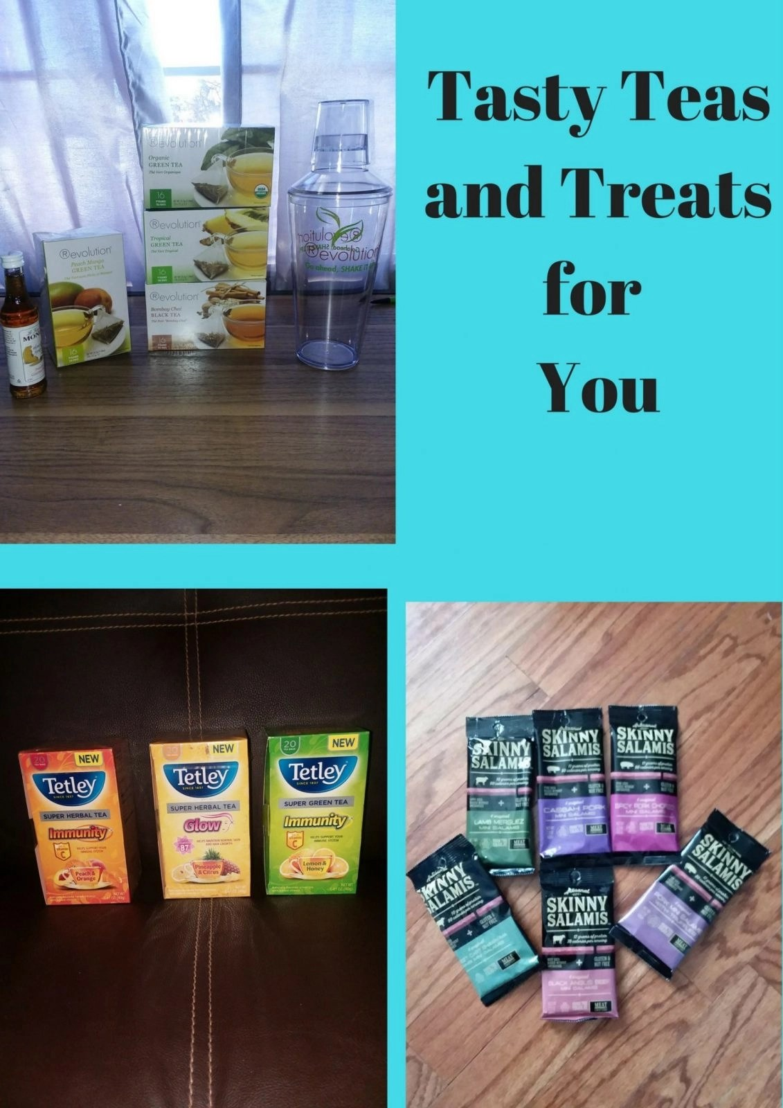 Tasty Teas and Treats for You