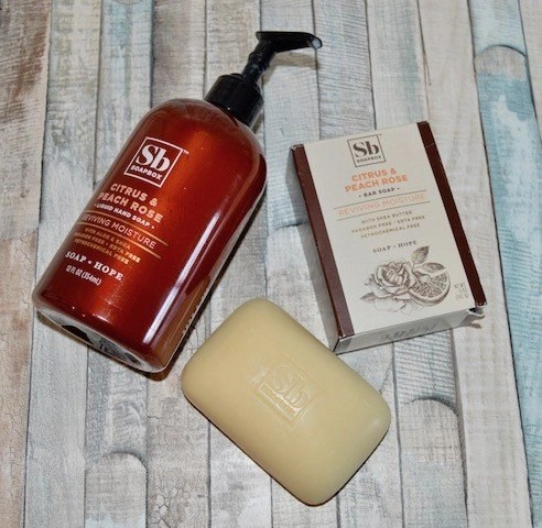 SoapBox Citrus & Peach Rose Hand and Bar Soap