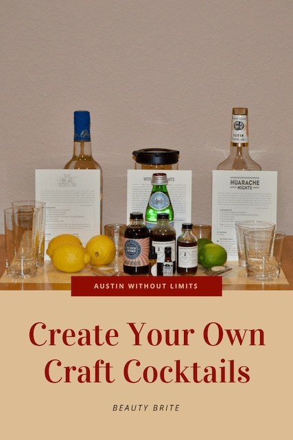 Create Your Own Craft Cocktails