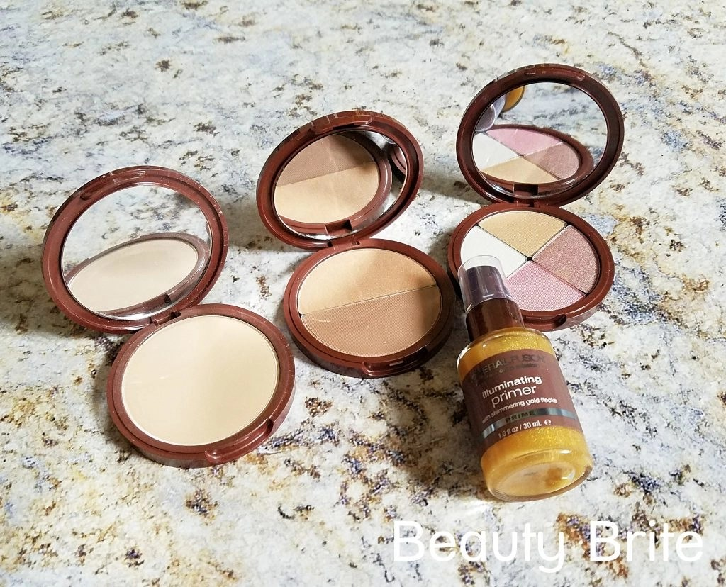 Travel-Friendly Mineral Makeup - social media
