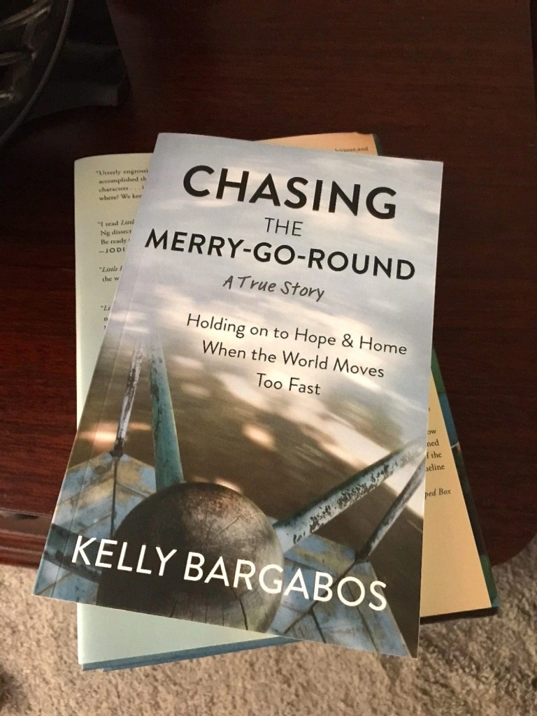 Chasing The Merry Go Round by Kelly Bargabos