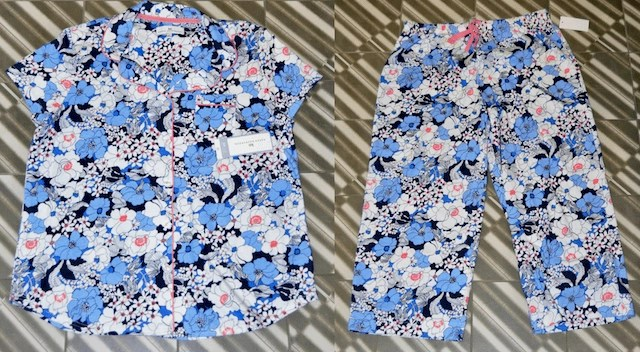 Karen Neuburger Loungwear - Short Sleeve Floral