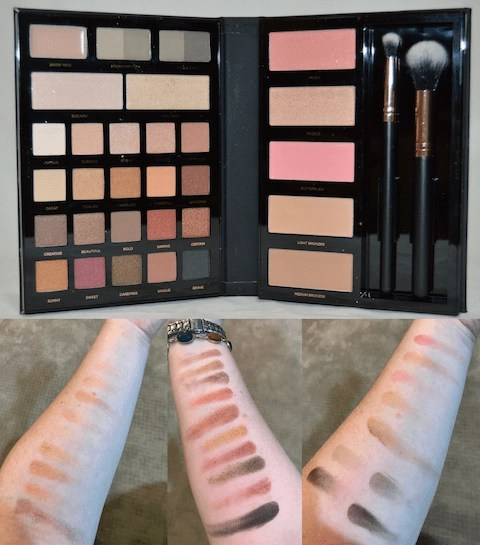 Summer Festival Ready Makeup Profusion - Pro Face Palette & Swatches