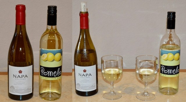 Summer Drink Must Haves - Pomelo and Napa Cellars Wine