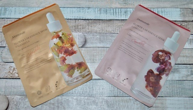K-Beauty Favorites Mamonde Flower Lab Essence Masks