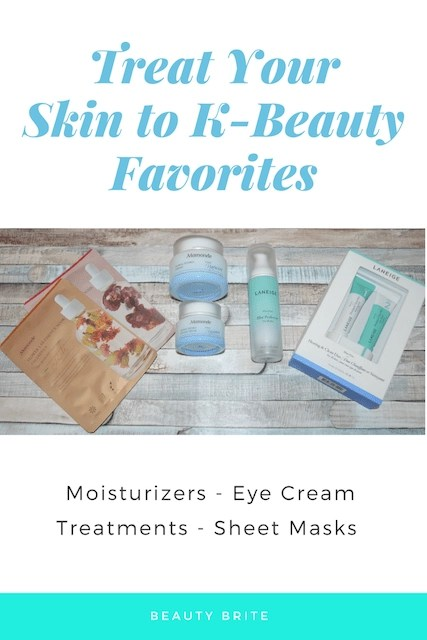 Treat Your Skin to K-Beauty Favorites