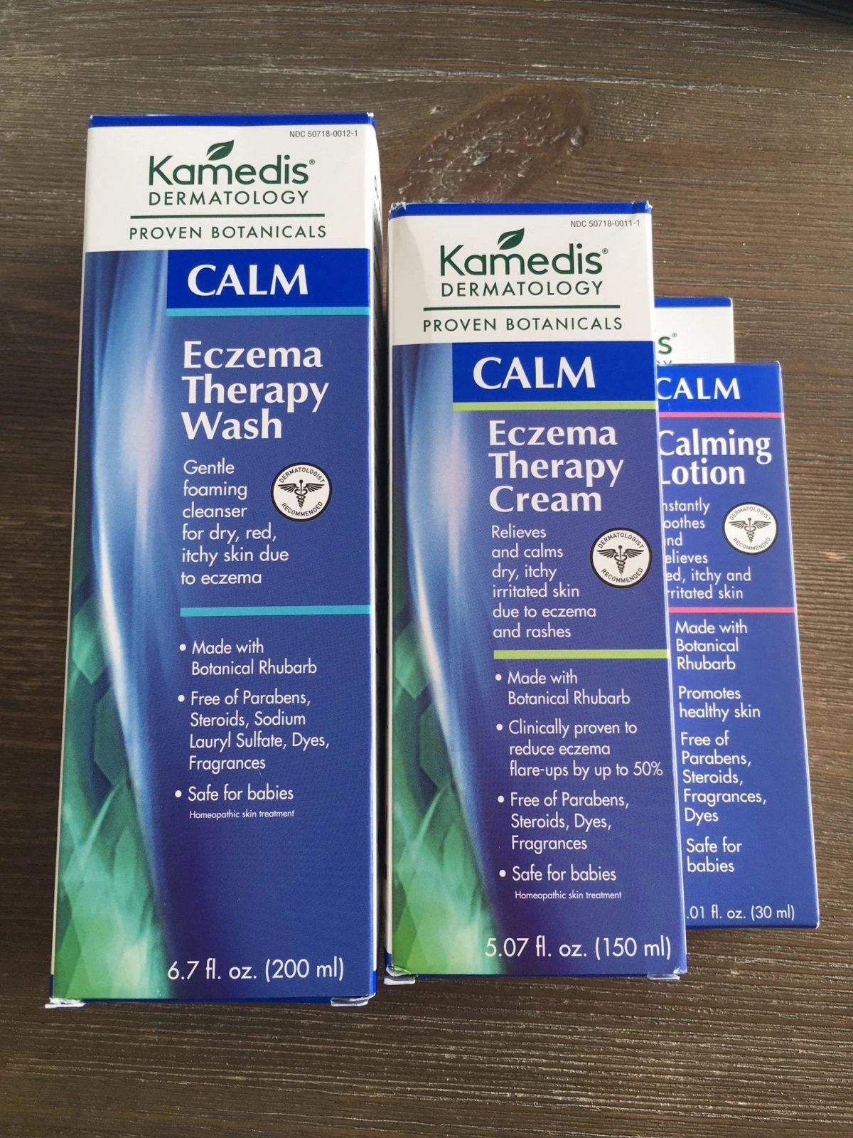 Kamedis Dermatology in Packaging