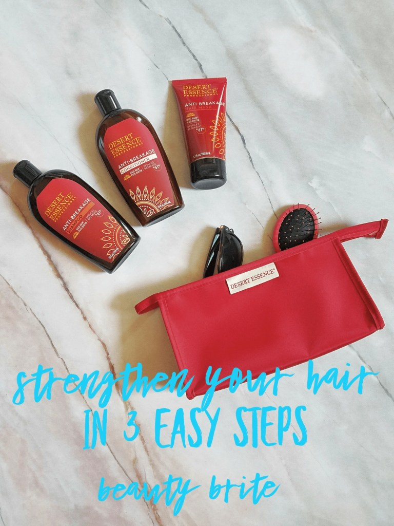 Strengthen Your Hair In 3 Easy Steps
