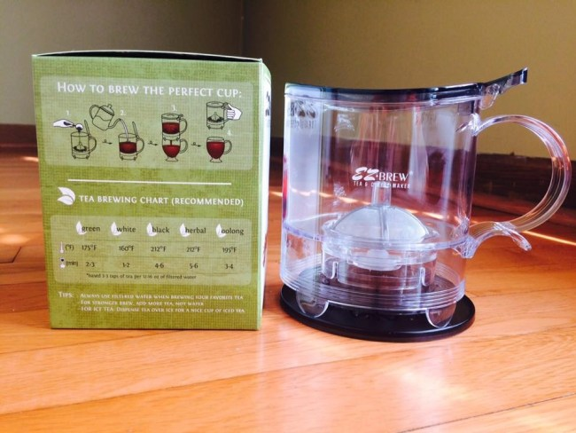 EZ Brew Coffee and Tea Maker Wendigo Tea Co.