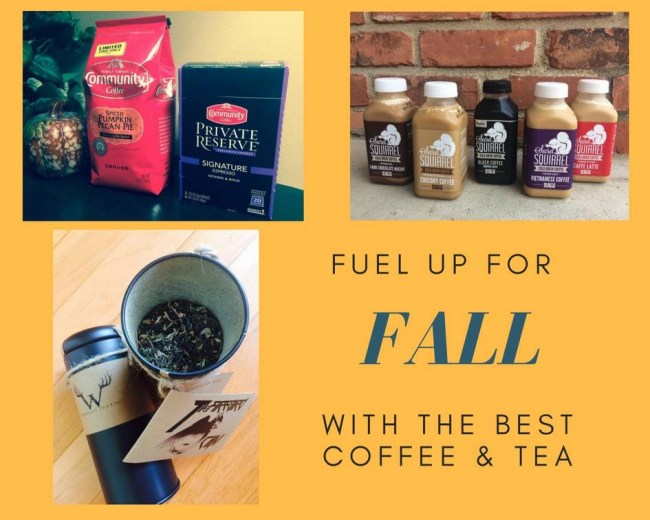 Fuel Up For Fall With The Best Coffee and Tea--Community Coffee-Secret Squirrel Cold Brew Coffee-Dunkin Donuts-Wendigo Tea Co.