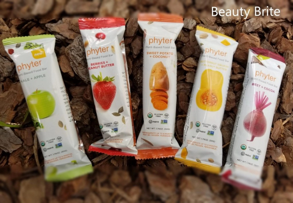 Phyter Plant-Based Food Bars